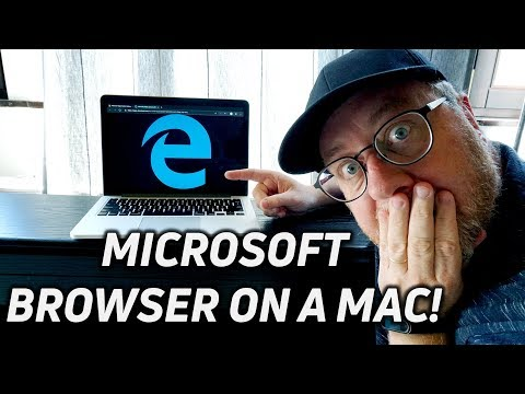 Microsoft Edge Web Browser On A Mac (also On Windows)
