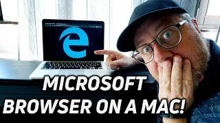 Microsoft Edge Web Browser on a Mac (also on Windows)