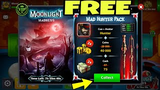 How To Get 75 Cash+Hunter Cue+Avatar Free In Your 8 Ball Pool Account