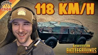 World Record BRDM Land Speed ft Boom chocoTaco PUBG Gameplay