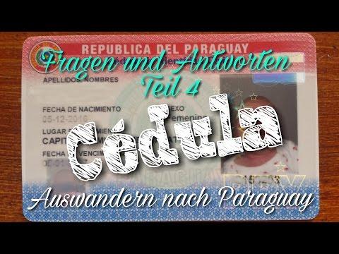 Q&A Daueraufenthaltsgenehmigung / Cédula für Paraguay + Einwanderungshelfer