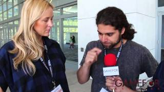 "Wondercon 2014: Claudio Sanchez & Chondra Echert Talk ""Translucid"""