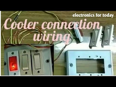 Cooler Connection With Indicator In Hindi क लर कन क शन