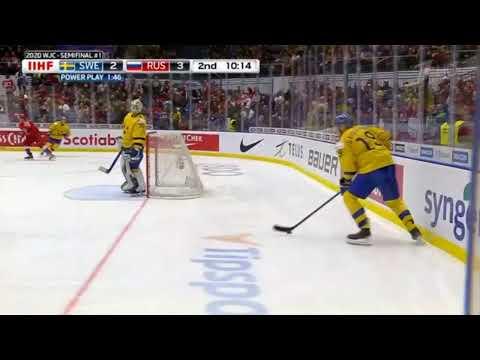 Россия - Швеция. Прямая трансляция. Хоккей. Чемпионат мира среди молодёжных команд. 1/2 финала.