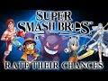 Super Smash Bros Ultimate - Rate Their Chances [15] Masked Man, Gengar, Hat Kid, Glass Joe & Azura!