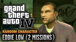 GTA 4 - Random Character #11 - Eddie Low [2 Missions] (1080p)