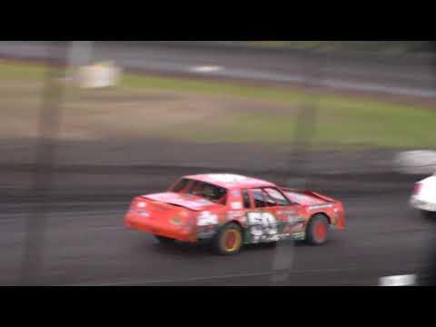 Stock Car Heat 1 @ Hancock County Speedway 08/12/17