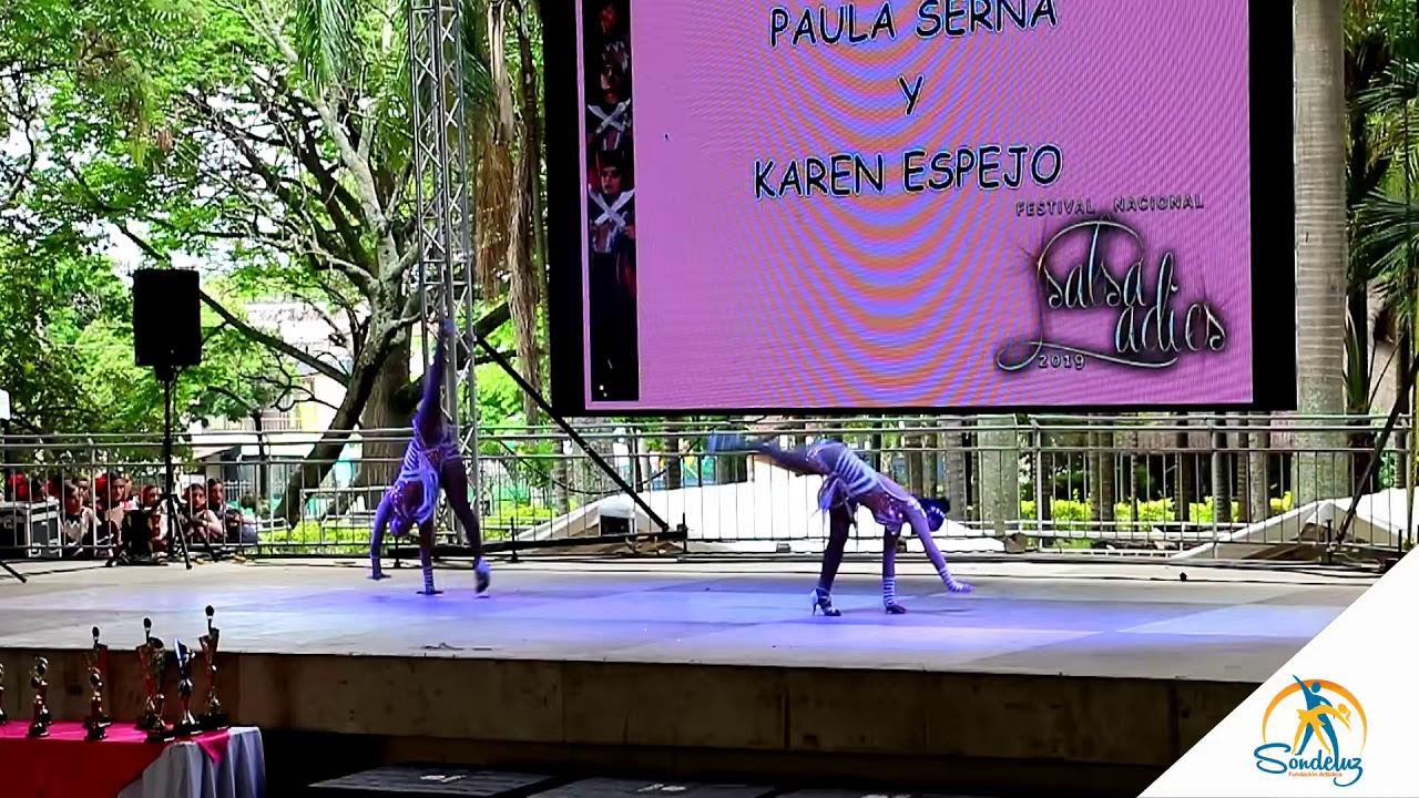 Karen Espejo y Paula Serna, Segundo Lugar, Dúos en el Salsa Ladies 2019