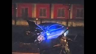 Bergamonews - Incidente a Caravaggio: 3 giovani morti