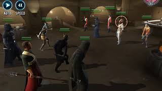 Swgoh sith/ rebel hybrid team in arena