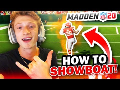 HOW TO SHOWBOAT / DANCE IN MADDEN 20!🤩 *NEW CELEBRATIONS* - (Madden 20 Tips & Tricks)