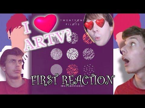 First Reaction to some Twenty One Pilots - Blurryface! @ARTV Happy Valentines Day