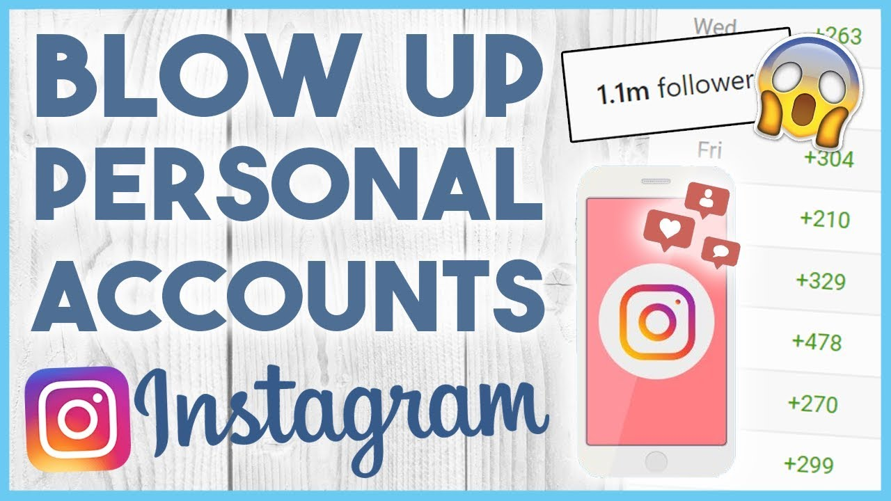 1 Easy Tactic To Explode The Growth On Your Personal Instagram