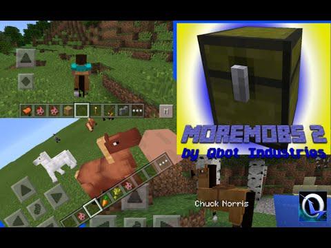 More Mobs 2 Mod (Minecraft Pocket) 100 mobs