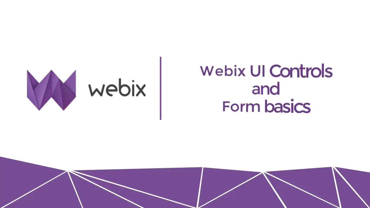 Webix multiview