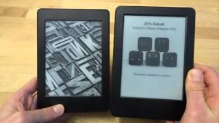 Kindle Paperwhite 3 vs. Tolino Shine 2 HD - Vergleich