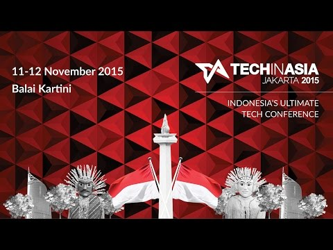 Tech in Asia Jakarta 2015 - Promo Video