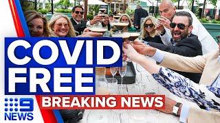 Coronavirus: Victoria officially eliminates COVID-19 | 9 News Australia