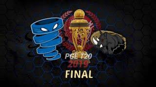 FINAL - PGE T20 LEAGUE 2019 - ADITYA SUPERNOVAS v NK RANGERS (ASHES CRICKET 19)