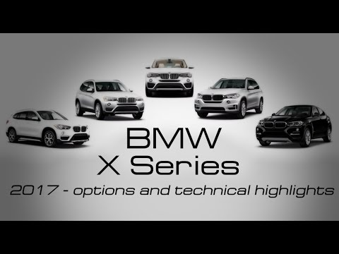 Bmw X Series >> Bmw X Series 2017 Overview Of All Models Youtube