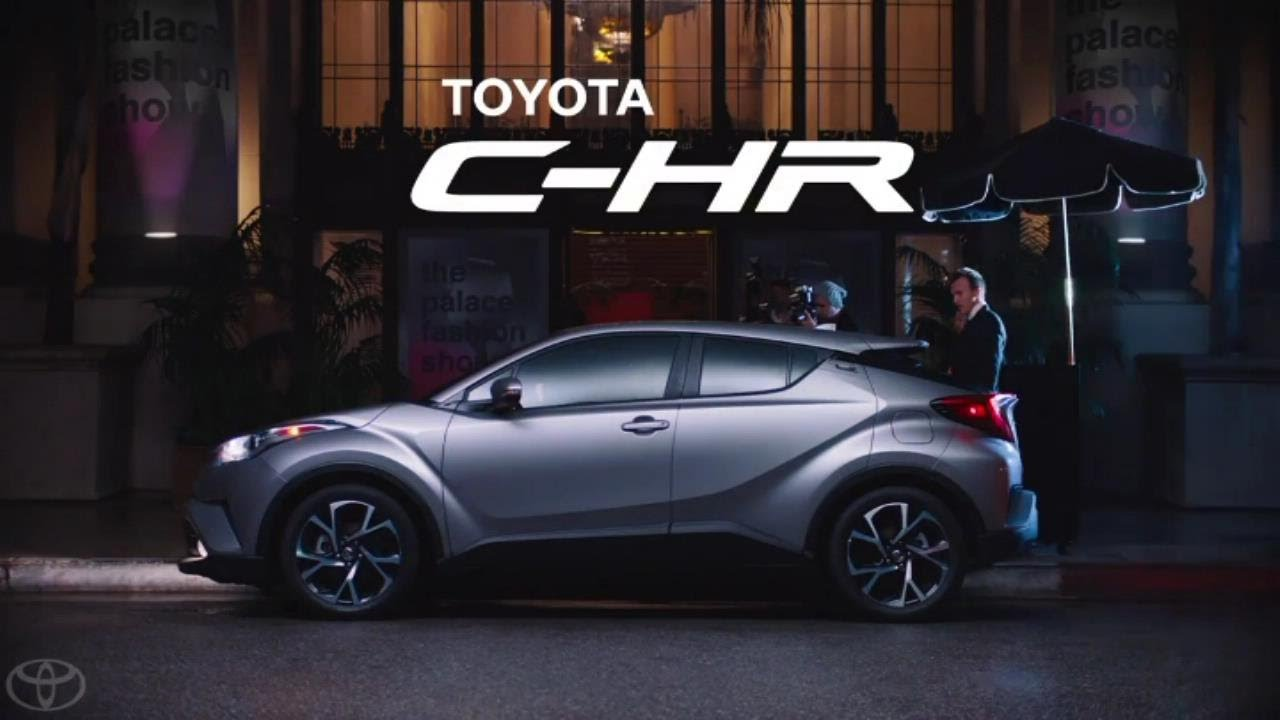 The All New Toyota C Hr Crossover 2018