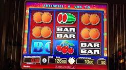 Merkur Magie Bally gezockt, Gambling, Triple Chance 140 geballert, Spielothek Novo G4minator ;)