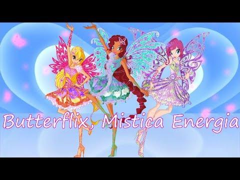 Winx Club~ Butterflix, Mistica Energia (Lyrics)
