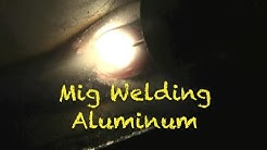 Mig Welding Aluminum with a Spool Gun