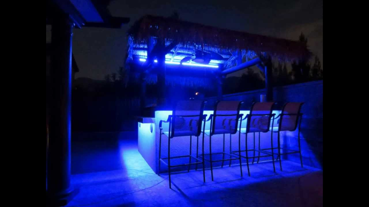 led light show on bbq island must watch youtube. Black Bedroom Furniture Sets. Home Design Ideas