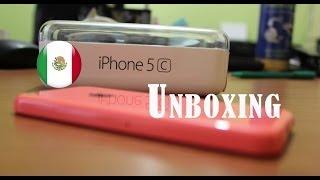 Unboxing iPhone 5C Telcel 4G LTE Mexico. Español !!