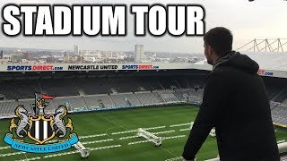 Gambar cover ST JAMES' PARK STADIUM TOUR! NEWCASTLE UNITED!