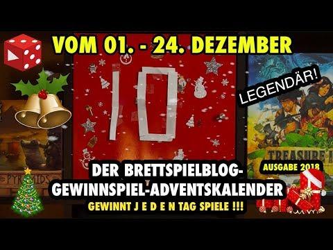 Türchen 10: Der große Brettspielblog Gewinnspiel Adventskalender 2018