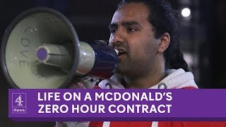 The McDonald's employees struggling to live on zero hours contracts
