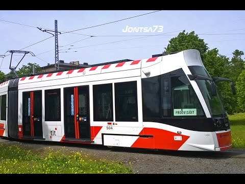 Tallinn CAF Urbos AXL tram 2015