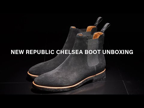 New Republic Mens Chelsea Boots Unboxing, Review & On-foot