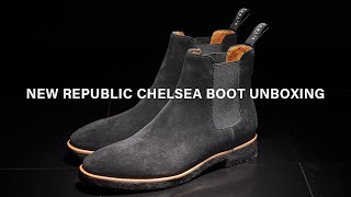 new republic suede chelsea boots unboxing and review/best suede chelsea boots