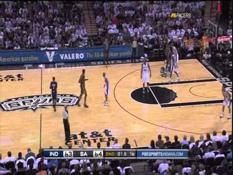 Collison vs Spurs NBA Regular Season 2010/2011