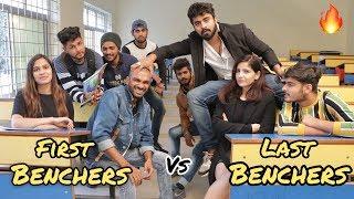 First Benchers Vs Last Benchers || Half Engineer