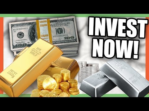 WHY YOU SHOULD INVEST IN GOLD AND SILVER NOW!! GOLD AND SILVER COINS!!