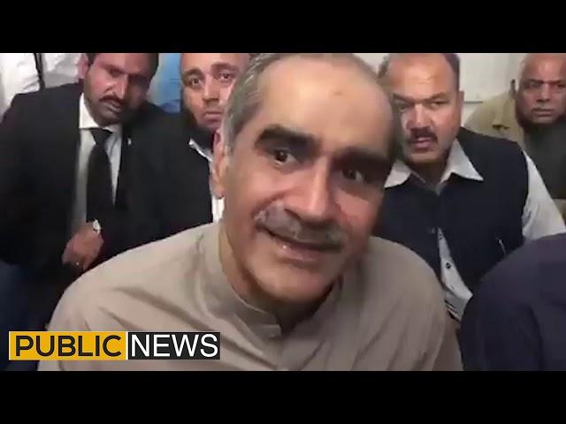 PTI playing politics on Nawaz Sharif's health | Khawaja Saad Rafiq