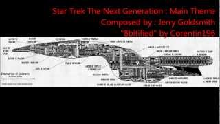 8bit Science Fiction Theme (NES) : Star Trek TNG (Main Theme)