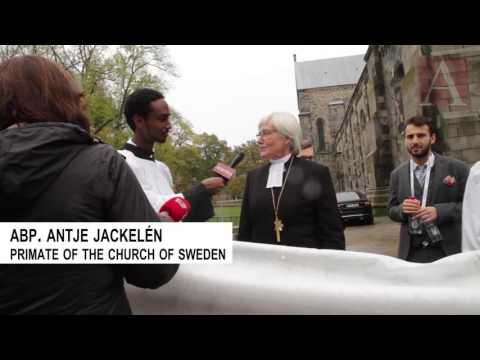 A surprise interview w Abp. Antje Jackelén