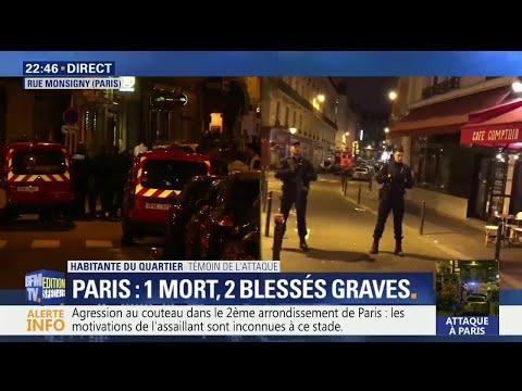 Attaque au couteau à Paris: ce que l'on sait à 22h45
