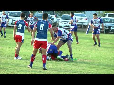Chile v Thailand Rugby League, Sep 30 2017 -  First Half