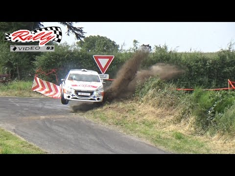 44 Rally du Rouergue 2017 HD Big Show and Mistakes by Rally Video 83