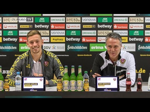 16. Spieltag | SGD - AUE | Pressekonferenz vor dem Spiel