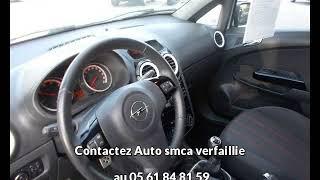 Opel corsa occasion visible à Bessières présentée par Auto smca verfaillie