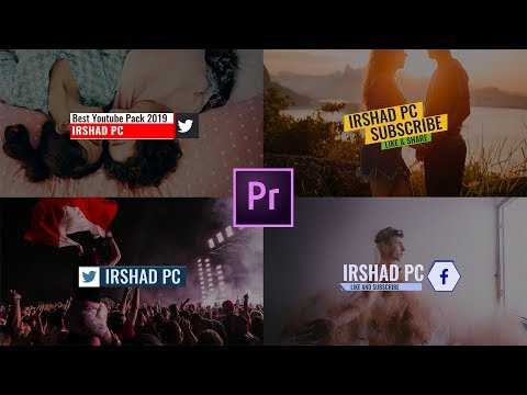 Most Advanced LOWER THIRDS Free Template   Premiere Pro
