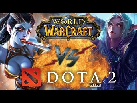 видео: Рэп Баттл - dota 2 vs. world of warcraft