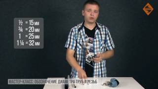 видео обозначение дюймовой резьбы